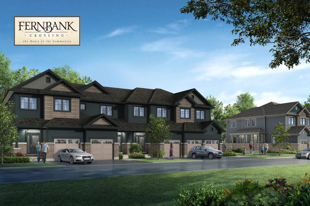 Fernbank lifestyle with logo - Ottawa Property Developers