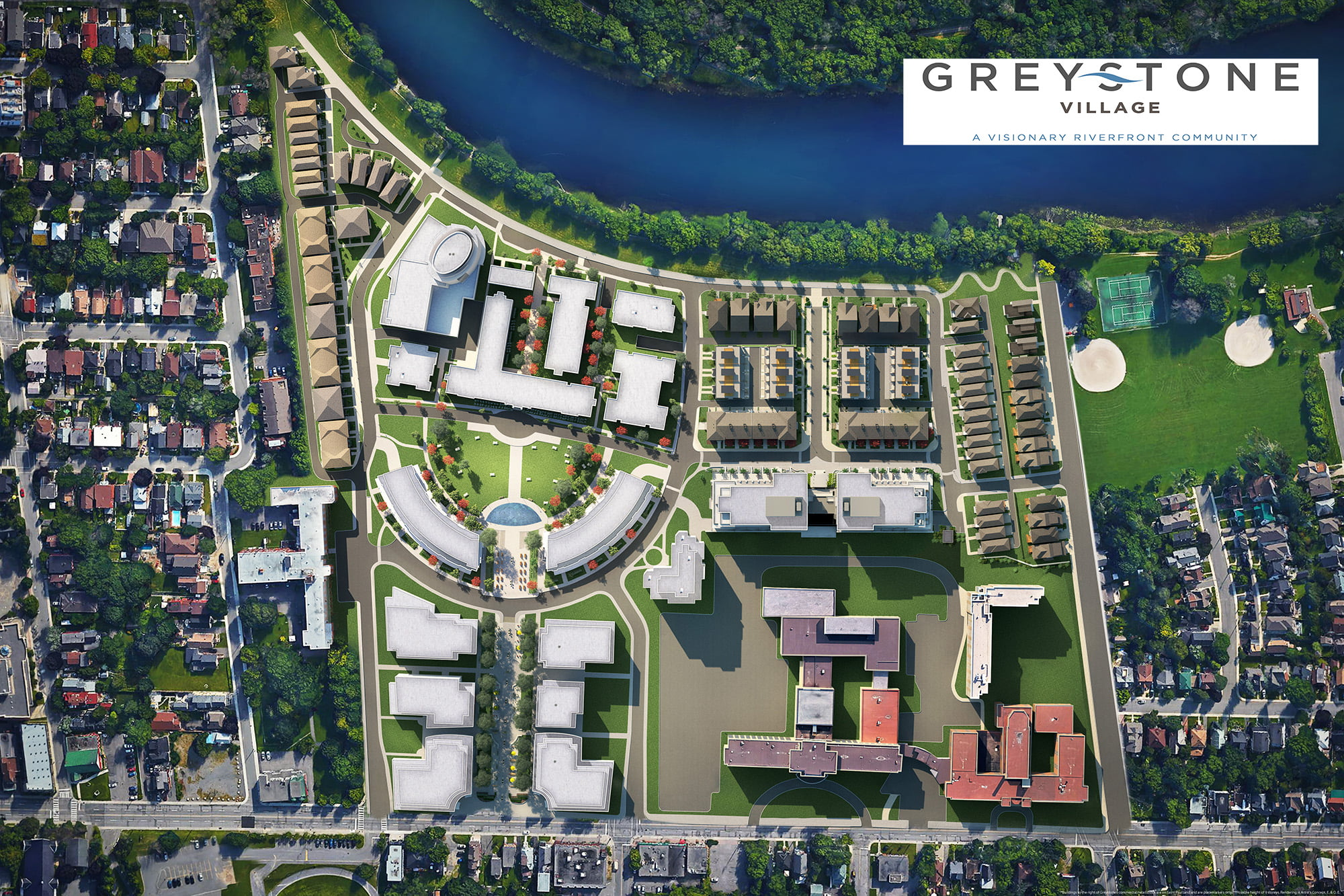 Greystone Village - 3D Property Development