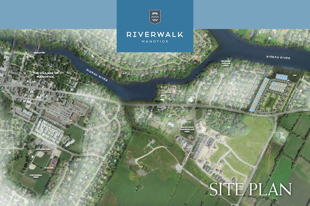 Riverwalk Site Plan - w logo