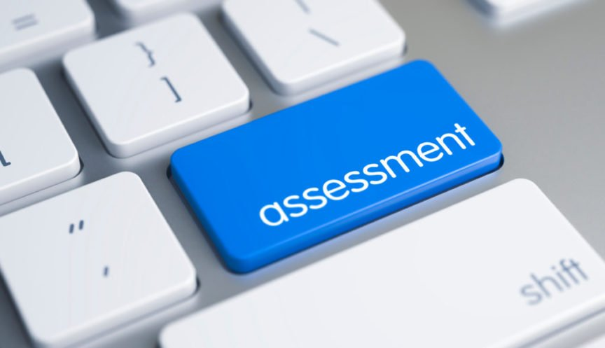 Assessment button on keyboard - Property Development