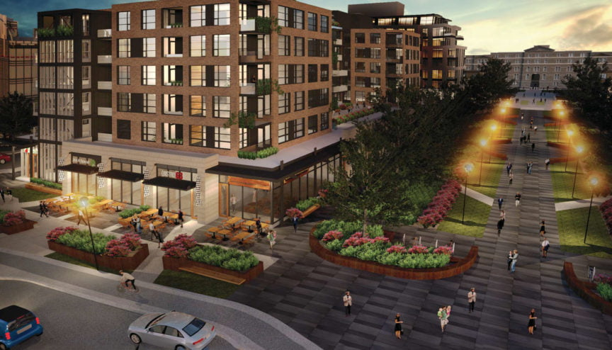 Regional Group and Fengate partnership brings rental apartments and retail components to Greystone VIllage.