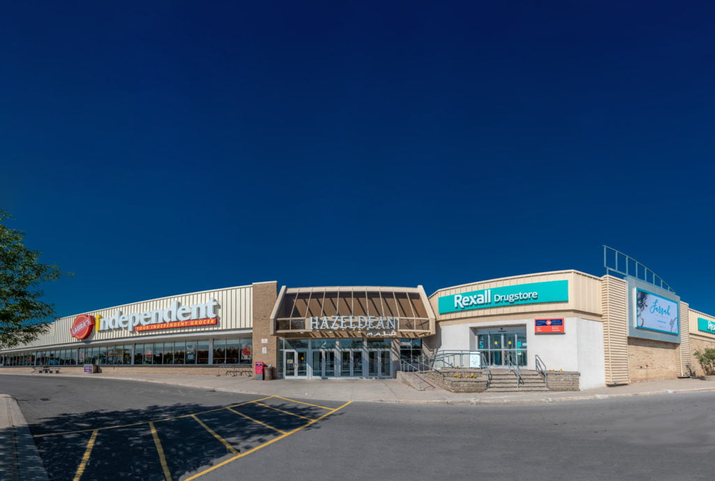 Outside image of Hazeldan Mall