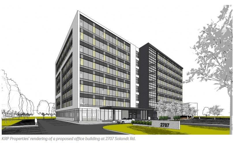 KRP Properties' New Office Building in Kanata North Gets Green light.